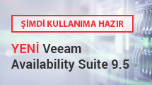 YENİ Veeam Availability Suite 9.5