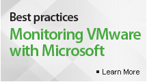 Best Practices for Monitoring VMware with SCOM
