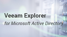 Group Policy Object restore for Active Directory in NEW Veeam Availability Suite 9.5