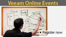 Veeam online events