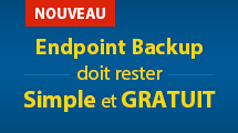 Le nouveau Veeam® Endpoint Backup™ FREE