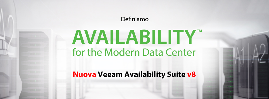 Definiamo Availability for the Modern Data Center