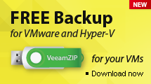 Veeam Backup Free Edition