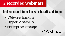 Recorded webinar series: Introduction to Virtualization