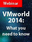 Did you not get to attend VMworld?