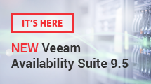 NEW Veeam Availability Suite 9.5