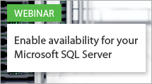 Enable availability for your Microsoft SQL Server