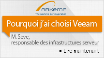 Le chimiste Arkema confie à Veeam Backup & Replication la protection