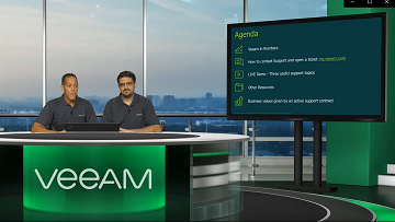 Veeam 101: Learn about the Support and Renewals services