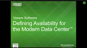 Defining Availability for the Modern Data Center (Canada)