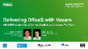 Delivering DRaaS with Veeam