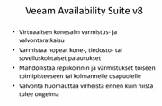 Päivitä Veeam Availability Suite v8 n!