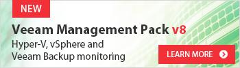 Veeam Management Pack v8 for System Center