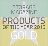 Product of the Year 2015 by Storage Magazine