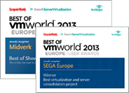 Best of VMworld Europe 2013 User awards