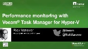 Hyper-V performance monitoring with Veeam's FREE Task Manager