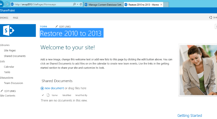 Successfully upgraded SharePoint 2013 in a test environment