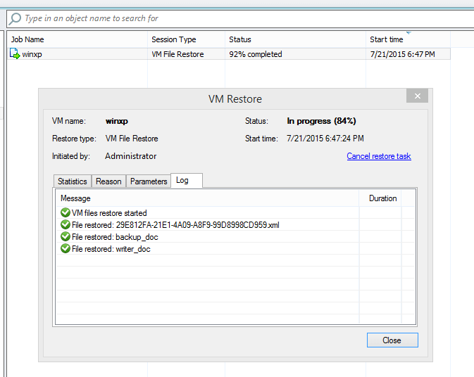 Veeam Powershell snap-in for Hyper-V Backup and Replication