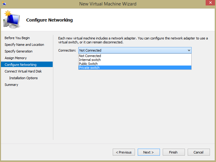 Figure 6. New VM creation wizard