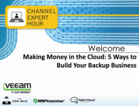 Making Money in the Cloud: 5 Ways to Build Your Backup Business
