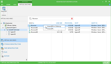 Veeam Backup Free Edition. Free forever. Unlimited number of VMs