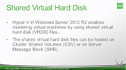New capabilities in the latest Hyper-V 2012 R2