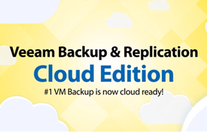 #1 VM Backup™ is now cloud ready