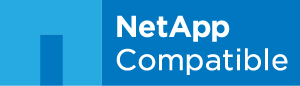 Veeam is certified NetApp Compatible