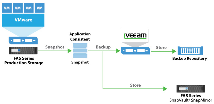 Netapp Storage Snapshots And Veeam Technology Integration