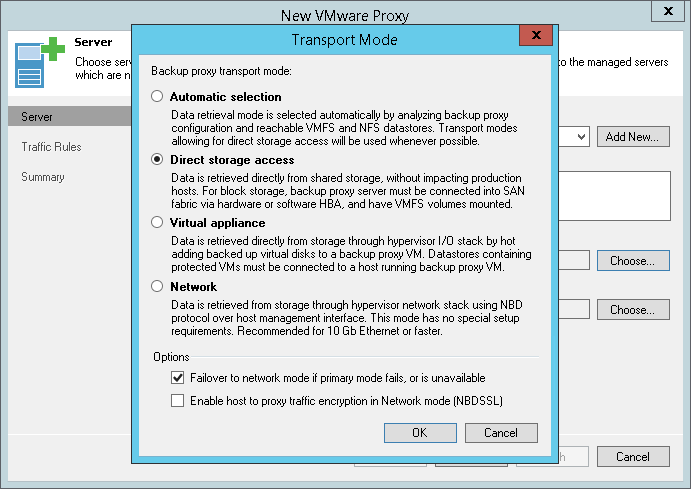 You can get VM data directly from file-based (NFS) primary storage using Veeam's proprietary NFS client.