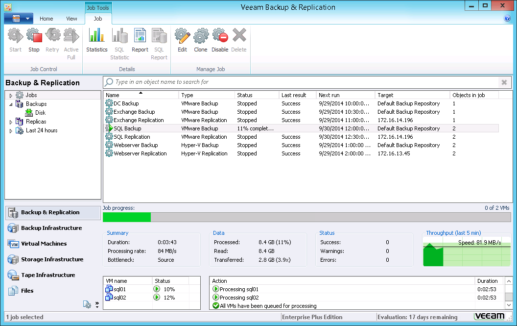 Manuali Utente E Schede Tecniche Su Veeam Backup Amp Replication