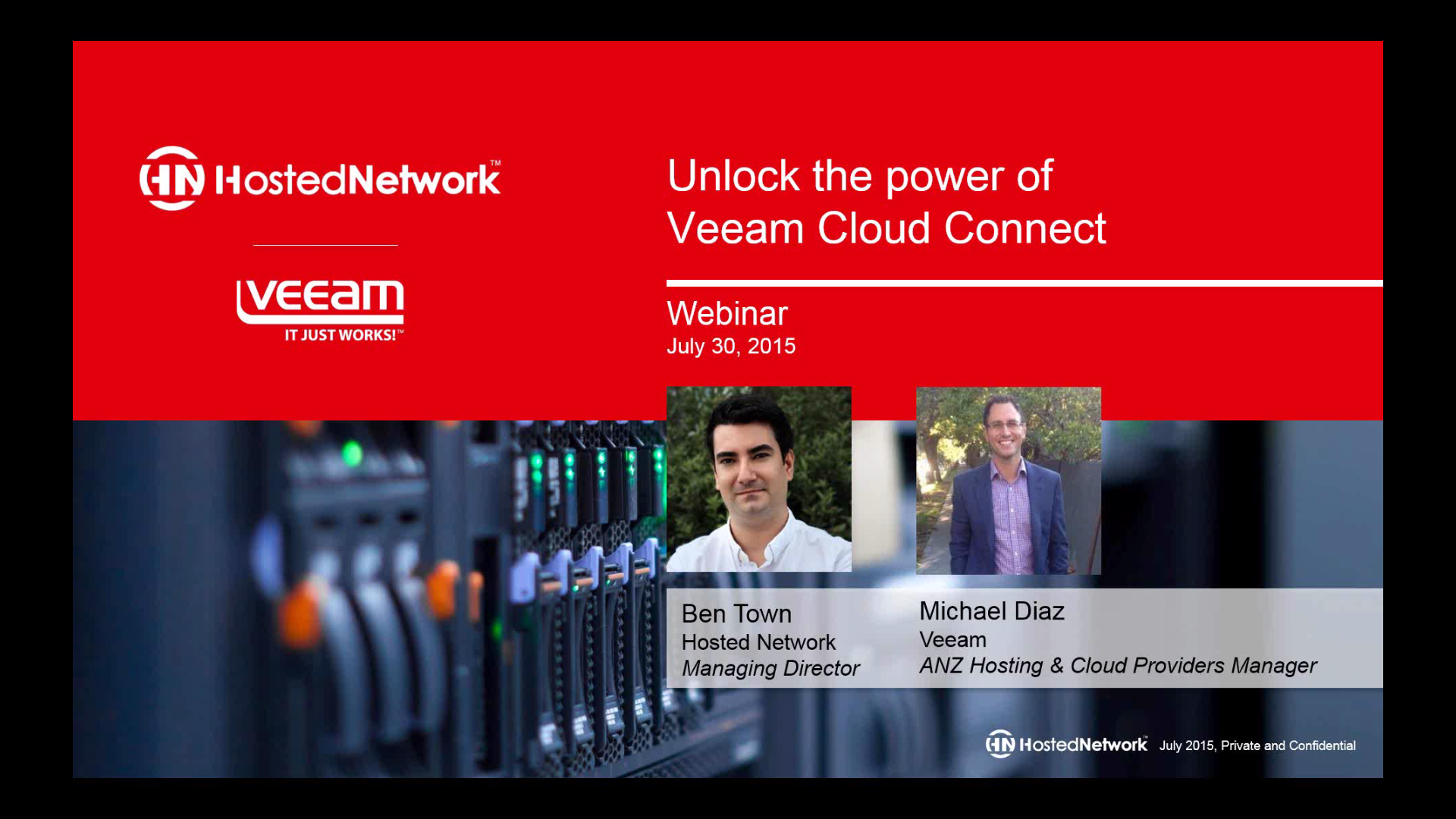 Unlock the power of Veeam Cloud Connect