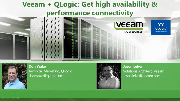 Veeam + QLogic: Get high availability & performance connectivity