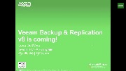 Veeam Backup & Replication v8 is coming!