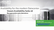 Veeam Availability Suite v8 para recuperación exhaustiva ante desastres