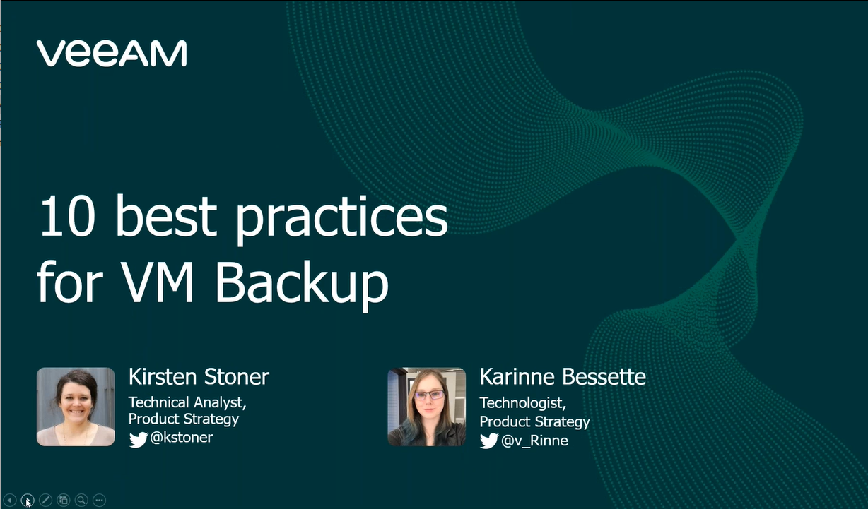 10 Best Practices for VM Backup