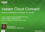 Veeam ohlašuje NOVINKU - Veeam Cloud Connect
