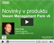 Nová verze Veeam Management Pack for VMware