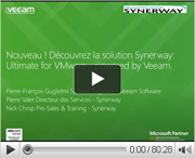 Nouveau ! Découvrez la solution Synerway : Ultimate for VMware - powered by Veeam.