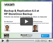Veeam Backup & Replication v6.5 et HP StoreOnce Backup