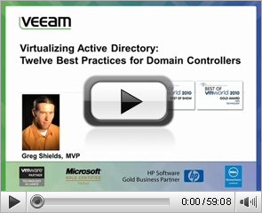 Virtualizing Active Directory Six Best Practices for Domain Controllers