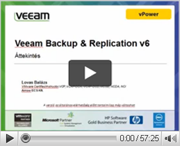 A Veeam Backup & Replication termék gyors.