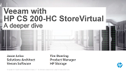 Veeam + HP CS 200-HC StoreVirtual: Availability for Hyper-Converged Systems