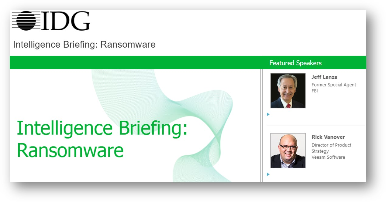 Ransomware Intelligence Briefing Webinar