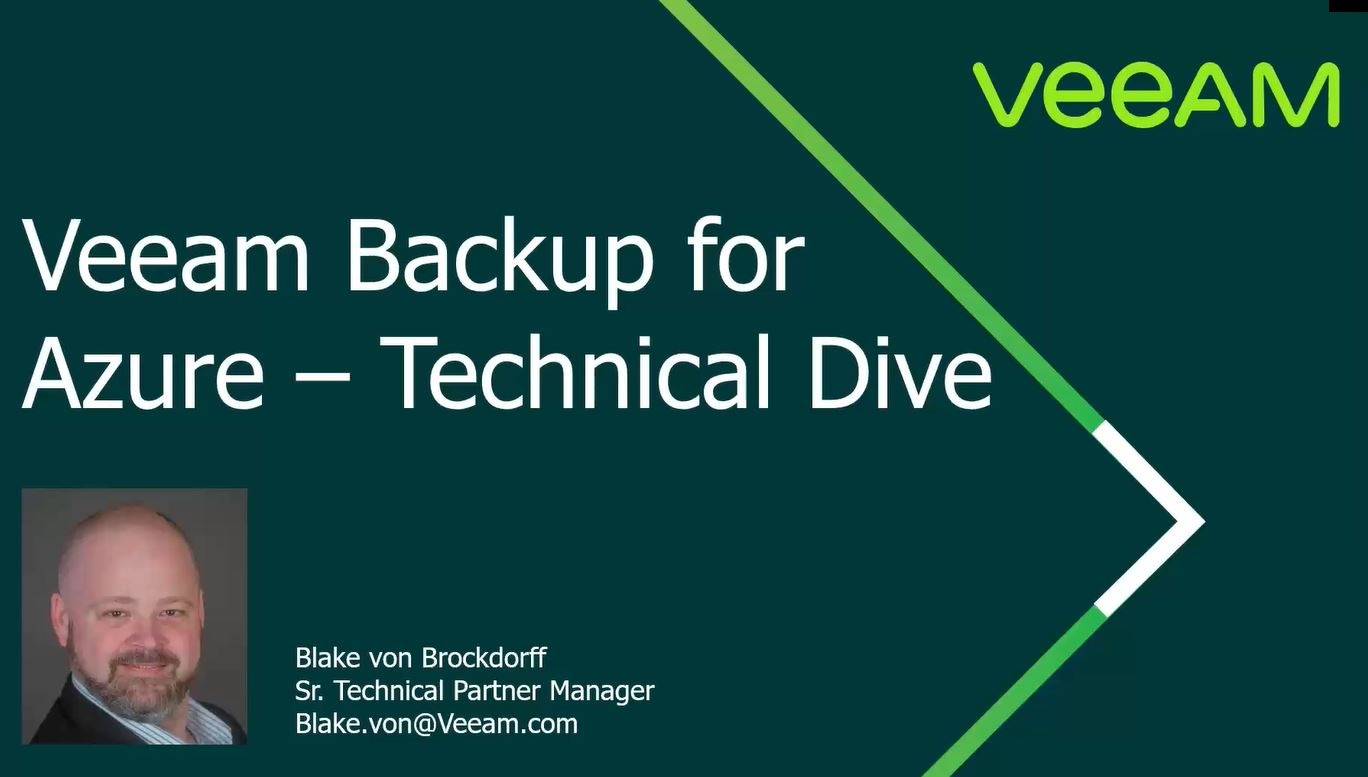 Cloud mobility with Veeam Backup for Microsoft Azure