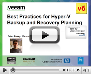 Best Practices for Hyper-V Backup and Recovery Planning