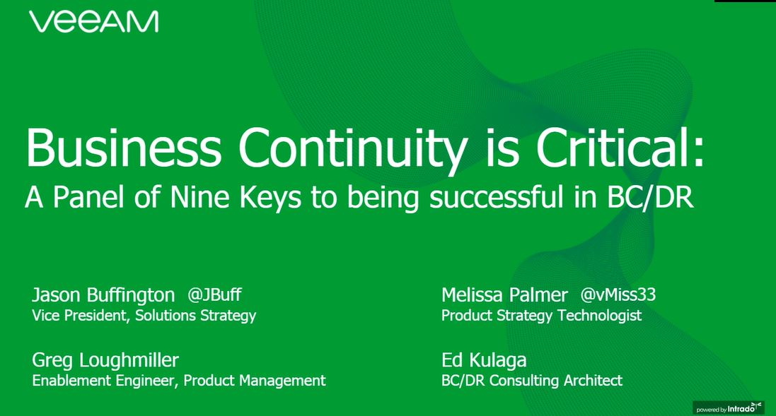 Why the recent world changes make Business Continuity critical to your success