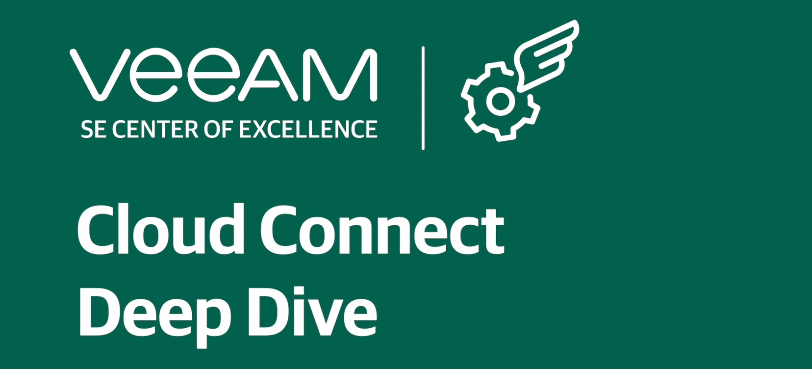 Deep dive into Veeam Cloud Connect