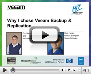 Why I switched to Veeam Backup & Replication