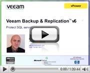 Veeam Backup & Replication – Protect SQL Server